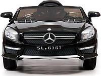 Детский электромобиль Mercedes-Benz с ремнем безопасности и пультом родительского контроля.