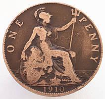 Великобритания 1 пенни 1910