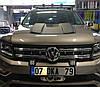 Накладка на  капот VW Amarok, фото 4
