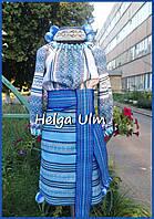 """Український костюм (стрій) для дівчинки """"Дніпро"""". Прокат (104-116) та на замовлення"""