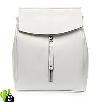 Сумка Женская Рюкзак кожа ALEX RAI 1-06 3206 white