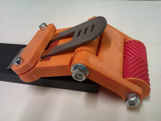 Тележка роликовая для заточки стамесок и лезвий рубанков