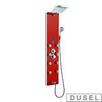 Гидромассажная панель Dusel DU787392R (красная)