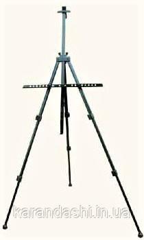 Мольберт-тринога алюміній,чорна (110х85х157см), з сумкою, висота полотна 80,5см., фото 2