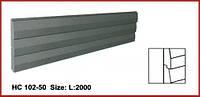 Фасадная панель для утепления НС 102-50 (2,00м) Prestige decor