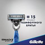 Бритва Gillette Mach3 Start 2 картриджа Original 01250, фото 5