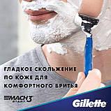 Бритва Gillette Mach3 Start 2 картриджа Original 01250, фото 9