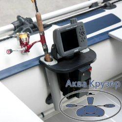 Универсальный крепежный блок (УКБ) Колибри - столик для эхолота колибри - столик для лодки ПВХ