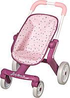 Коляска для кукол Прованс Прогулка Smoby Baby Nurse 251203 с поворотными колесами (коляска для ляльок)