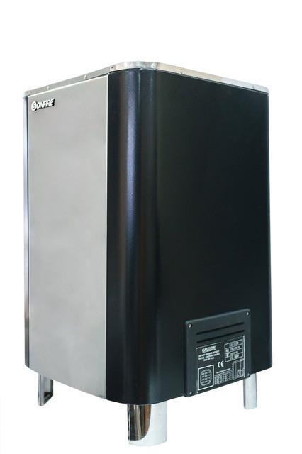 Напольная электрическая печь для сауны Bonfire SA-120V 12 кВт объем парной 10-18 м.куб с пультом