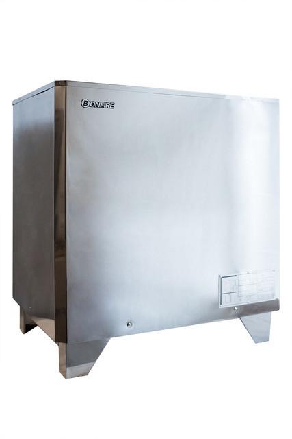 Напольная электрическая печь для сауны Bonfire SAV-240 с пультом 24 кВт объем парной 38 м.куб