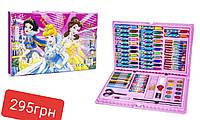 Набор для рисования (творчества) Disney Princess Art Set  (86 предметов) (розовой).
