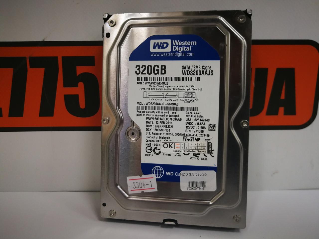 "Жесткий диск (HDD) 320GB Sata (3.5""; 2.5"")"