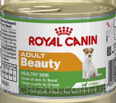 Royal Canin Adult Beauty 195г-консерва для взрослых собак мелких пород, фото 2