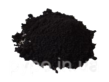Барвник для бетону, пігмент залізоокисний №F9635 Супер Чорний  / Краситель для бетона №F9635 Супер Чорный