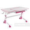 Стіл парта-трансформер для дівчинки FunDesk Amare Pink