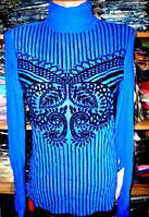 Гольф - сетка синяя размер 42