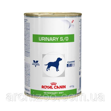 Royal Canin urinary s/o 410г*12шт - диета для собак при мочекаменной болезни, фото 2