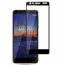 3D Защитное стекло для Nokia 3.1 TA-1063, TA-1057 черное