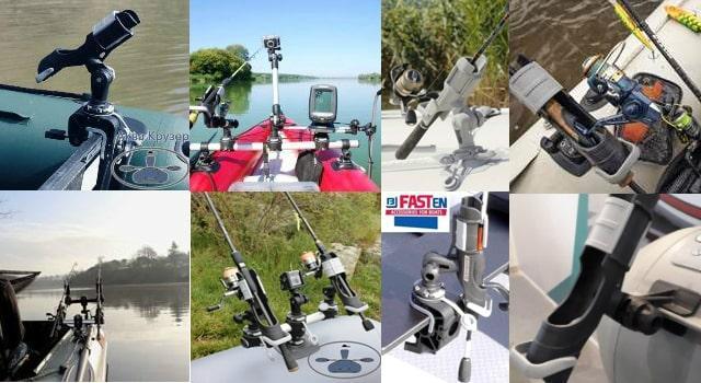 держатель удилища fasten - купить держатель для спиннинга борика - держатели и крепления удочки или спиннинга на лодку