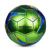 Футбольный мяч Spokey PRODIGY, размер №5, зеленый с рисунком, фото 1