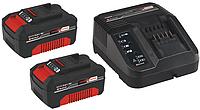 Аккумулятор 3 Ач 2 шт.+ зарядное устройство 18 V Einhell Power-X-Change [4512098]