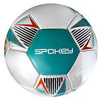 Футбольный мяч Spokey Overact, размер №5, серый с разноцветным рисунком