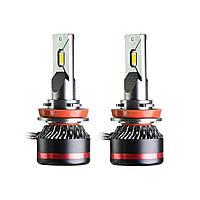 Светодиодные лампы MLux LED - RED Line H11 (H8, H9), 45 Вт, 4300°К