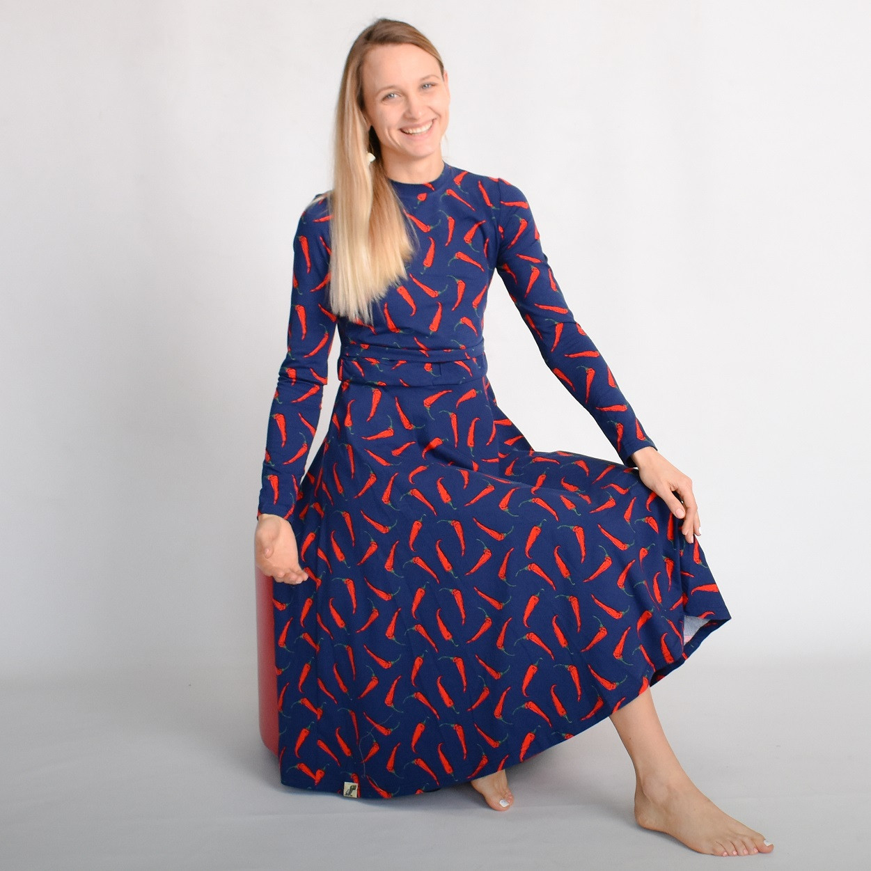 Сукня міді з секретом для годування For Kids Чилі