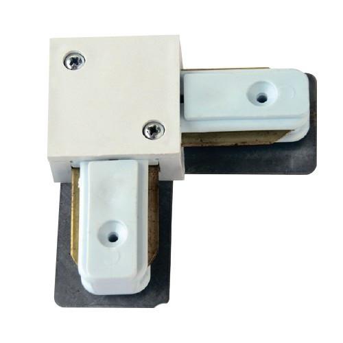 Коннектор для трекового LED светильника угловой белый Z-LIGHT ZL 4006