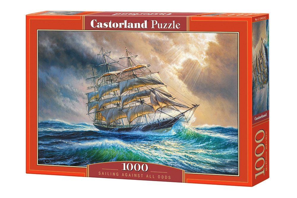 Пазлы Шторм 1000 элементов Castorland