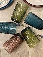 Набор цветных стаканов Лагуна (6 шт.)