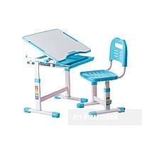 Комплект парта і стілець-трансформери FunDesk Sole Blue, фото 1