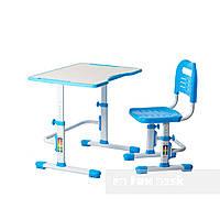 Комплект парта + стул трансформеры Vivo II Blue FUNDESK, фото 1