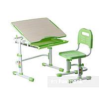 Комплект парта + стілець трансформери Vivo Green FUNDESK, фото 1