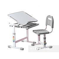 Комплект парта і стілець-трансформери FunDesk Sole Grey, фото 1