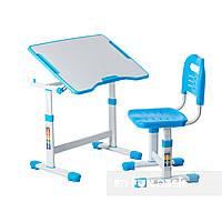 Комплект парта и стул-трансформеры FunDesk Sole II Blue, фото 1