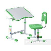 Комплект парта и стул-трансформеры FunDesk Sole II Green, фото 1