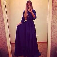 """Платье вечернее с рукавом летучая мышь """"Юлианна"""""""