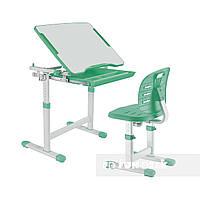 Комплект парта + стілець трансформери Piccolino III Green FunDesk, фото 1