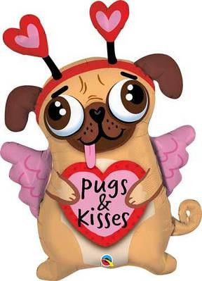 """Q 36"""" Pugs & Kisses Обнимашки и целовашки- В УП"""