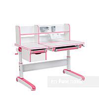 Дитячий стіл-трансформер FunDesk Libro Pink, фото 1