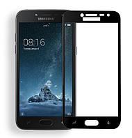 Защитное стекло Lion для Samsung Galaxy J2 Pro (J250) 3D Perfect Protection Full Glue, Black