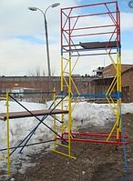 Вышка-тура строительная на колесах