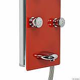 Гидромассажная панель Dusel DU616351R (красная), фото 2