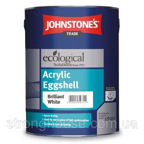 Johnstone's Acrylic Durable Eggshell 5л Акриловая краска Джонстоун Акрил Дюрабл Егшел