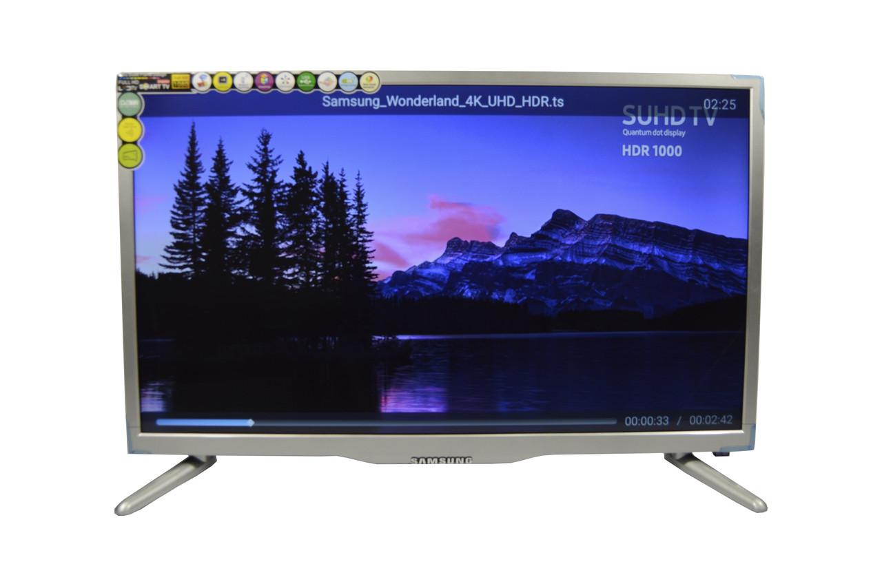 Телевизор Samsung Smart TV Android 32 дюйма  +Т2 FULL HD 220v USB/HDMI LED (Тонкий телевизор Самсунг )+ПОДАРОК