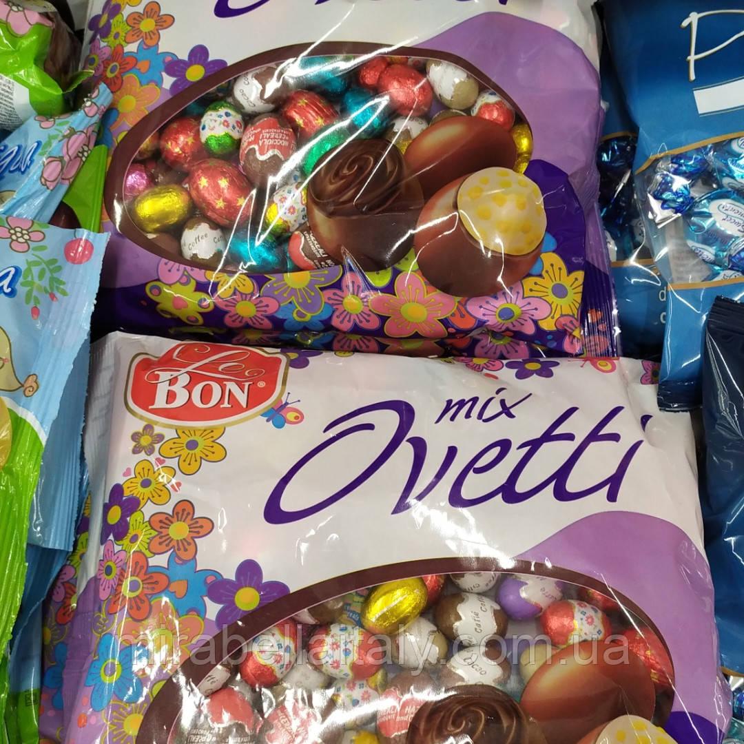 Шоколадные яички асорти Le Bon mix Ovetti