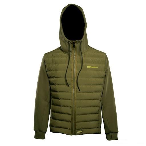 Куртка с капюшоном APEarel Dropback Heavyweight Zip Jacket Green XXXL