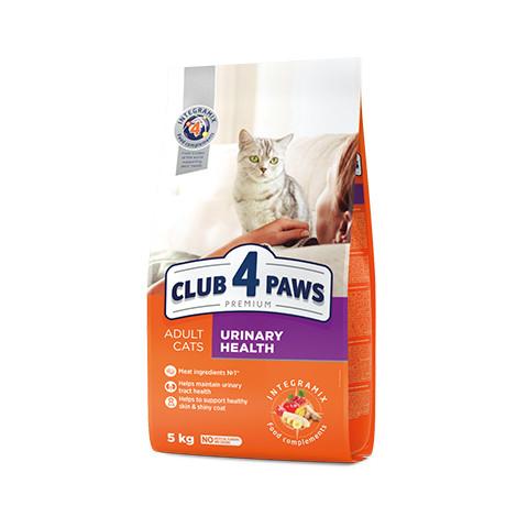 CLUB 4 PAWS PREMIUM 14 кг. Для взрослых кошек. ПОДДЕРЖКА ЗДОРОВЬЯ МОЧЕИСПУСКАТЕЛЬНОЙ СИСТЕМЫ